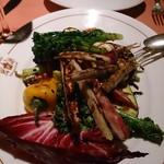 44022365 - 季節野菜の炭火焼