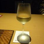 ブロス - クーポンで頂いた白ワイン
