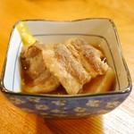 Yottekebakimmarusakaba - 豚バラ大根 (290円)