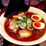 44026246 - 黄金煮玉子ラーメン(コク旨醤油:830円)。