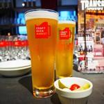 クラフト ビア マーケット - 六甲ビールいきがり生ネルソン & 軽井沢高原ビールガーデンセッションIPA