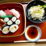 Yanagiyahonten - お寿司ランチ(1500円)