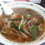 台南麺かちかち山 - 台南麺 550円