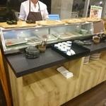 グリルなのはな - 2015年9月 こだわりの炙り寿司と郷土料理バイキング(船盛付き)