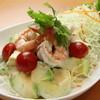 海老とアボガドのサラダ:ヤム・クン・アボカド