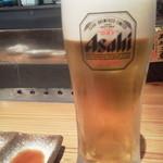 44038634 - ビールはアサヒ