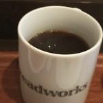 breadworks - コーヒー S  イートインならお替り自由(^o^)