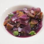 たまな食堂 - 根菜とキアヌのべジブロススープ