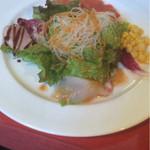 レストラン&パティスリー 木かげ茶屋 - ランチのお野菜