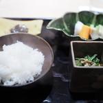 うち山 - お食事セット