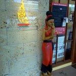 ライタイ 桜町店 - タイ料理のお店の前というとこんな感じになっていますよね。