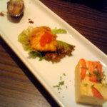 ポルタジョイエ - 前菜3種