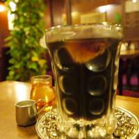 名曲・珈琲 麦-アイスコーヒー グラスもいいですね