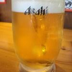お季楽 でめきん魚 - 料理を見た瞬間、ビールを注文しました(笑)