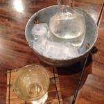蕎麦切り 翁 - 日本酒