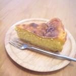 akaimi cafe - 週替わりのチーズケーキ・カボチャ 2015年10月