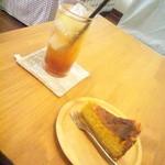 akaimi cafe - ジンジャーエール・チーズケーキ 2015年10月