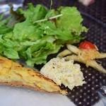 オリーブ食堂 orukat - 「黒豚のロースト」の前菜