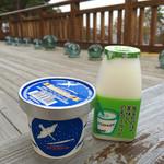 44041807 - 田野畑村産業開発公社のアイスクリームと飲むヨーグルト