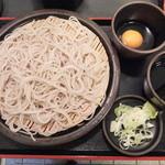 ゆで太郎 - 料理写真:もりそば(2015年11月)