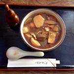 えるふ農国 - 料理写真:けんちんそば(*´v`*)