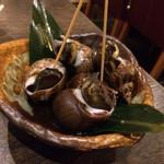 おばんざい酒場 山本 - バイ貝煮付け
