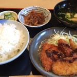 楽家 - 料理写真:日替わり定食550円