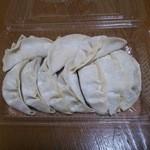味餃子 - 料理写真:生餃子