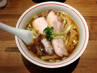 麺尊 RAGE - 軍鶏そば750円