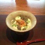 呼月 - 料理写真:焼茄子 玉蜀黍のエスプーマ
