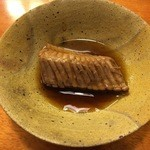 Ajihyakusen - カスベの煮付け:軟骨がうまい