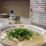 長浜ラーメン - 長浜らーめん 700円