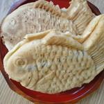 幸せの黄金鯛焼き - 料理写真: