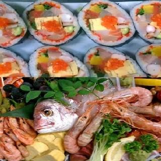 〈お寿司屋さんの仕出料理〉新鮮・美味で大満足!