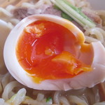 麺や 陽風 - 味玉。                                27.11.4