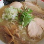 麺や 陽風 - 鶏豚魚介白湯あっさり大盛り  27.11.4