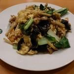 新楽坊 - キクラゲの卵炒め