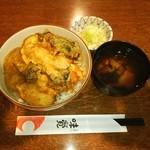 てんぷら 味覚 - かき天丼❤(*≧∇≦)ノ
