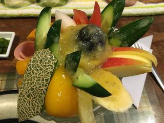 ぶるうべる - フルーツサラダ
