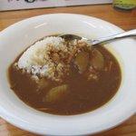三豊麺  - 料理写真:食べ放題のカレーとライス