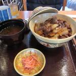 豚捨 - 牛丼 普通 1360円