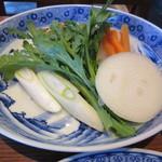 豚捨 - すき焼きの野菜