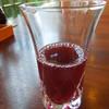 日本料理 花木鳥 - ドリンク写真:黒酢とぶどうのジュース