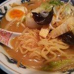 44079647 - 野菜味噌アップ