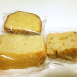 パティスリー・ユイ - シフォンケーキプレーン、焼酎のパウンドケーキ、エンゼルケーキ