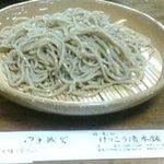 日光けっこう漬本舗 - もりそば(500円)/2008年12月