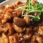栄康園 - 鶏肉の味噌炒め