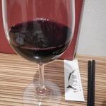 うま翔 - グラス赤ワイン