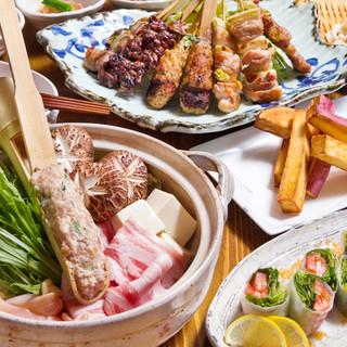 各種ご宴会などにコース料理も人気です