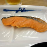 松屋 - 朝定食  焼鮭定食 450円の焼鮭